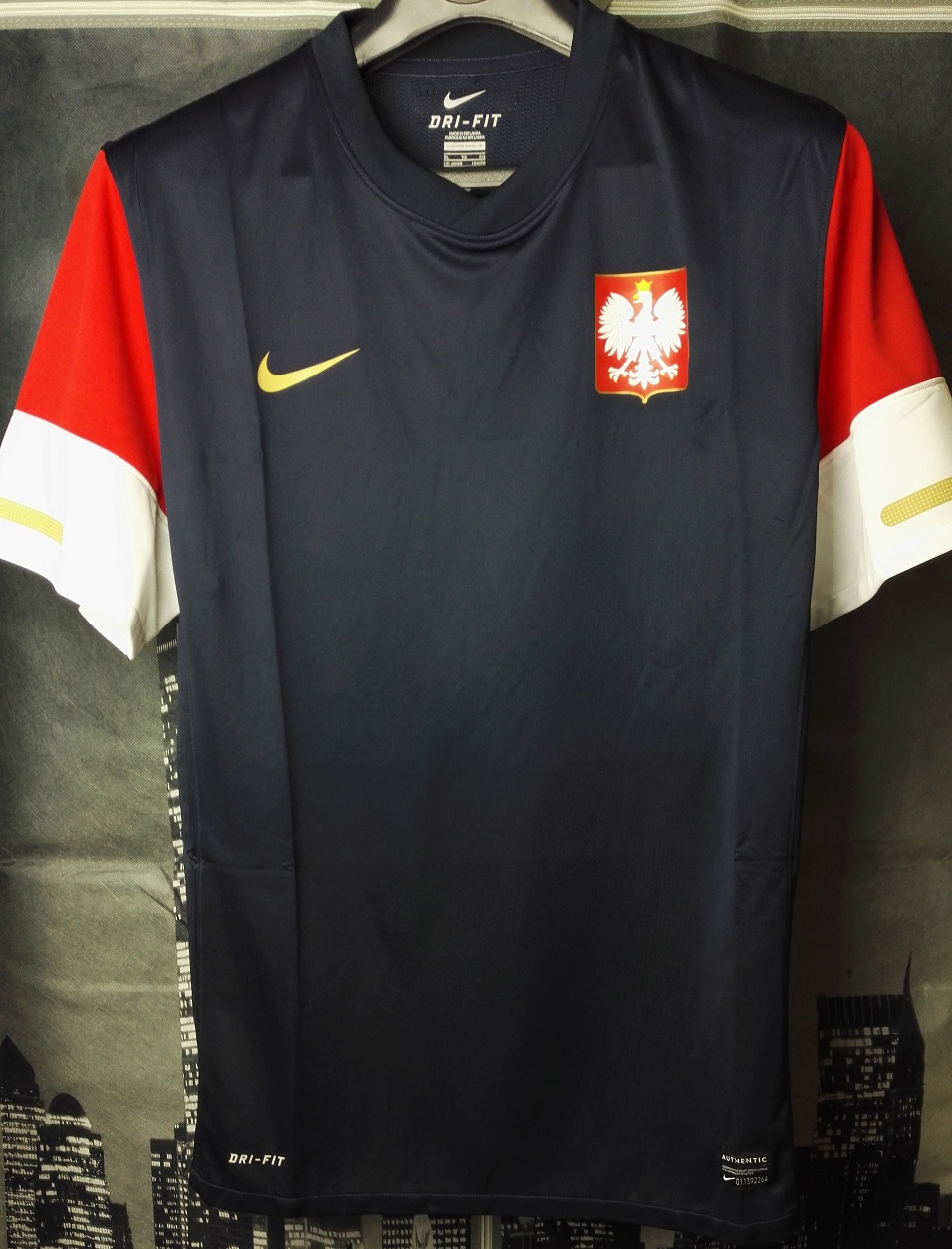 After Manchester United shirts in my collection appeared Poland national  team shirts. It was a natural step for me 014fb91f6